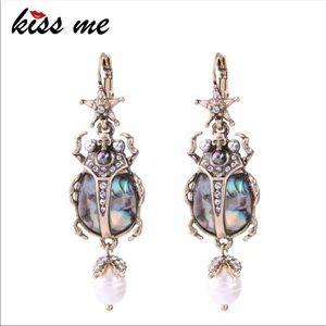 Jewelry - Scarab earrings , Trendsetter !!!